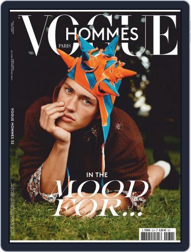 Vogue hommes English Version Magazine (Digital) September 1st, 2020 Issue Cover