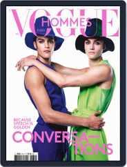 Vogue hommes English Version Magazine (Digital) Subscription September 1st, 2021 Issue