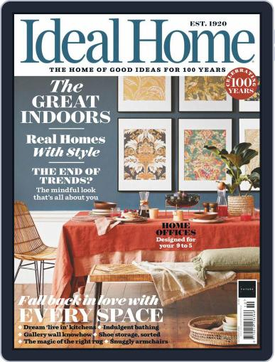 Ideal Home Magazine (Digital) October 1st, 2020 Issue Cover