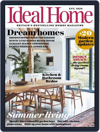 Ideal Home Magazine (Digital) August 1st, 2021 Issue Cover