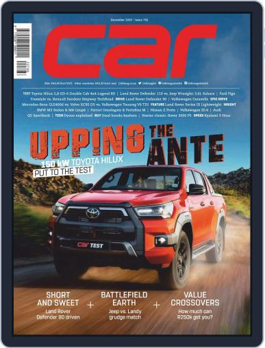 CAR Magazine (Digital) December 1st, 2020 Issue Cover