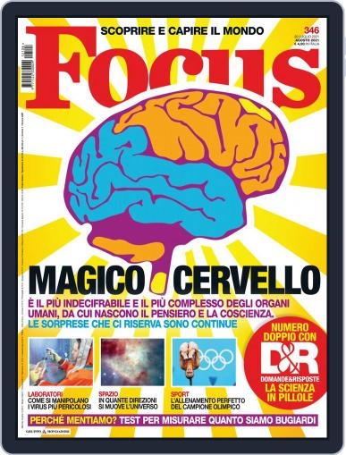 Focus Italia Magazine (Digital) August 1st, 2021 Issue Cover