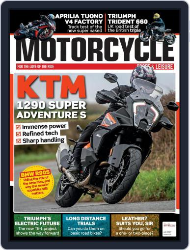 Motorcycle Sport & Leisure Magazine (Digital) July 1st, 2021 Issue Cover