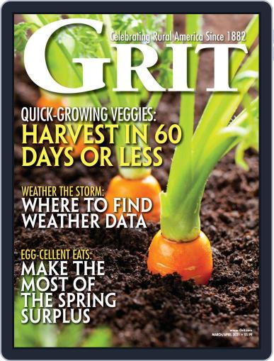 Grit Magazine (Digital) March 1st, 2021 Issue Cover