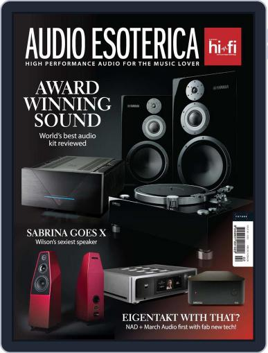 Audio Esoterica November 27th, 2020 Digital Back Issue Cover