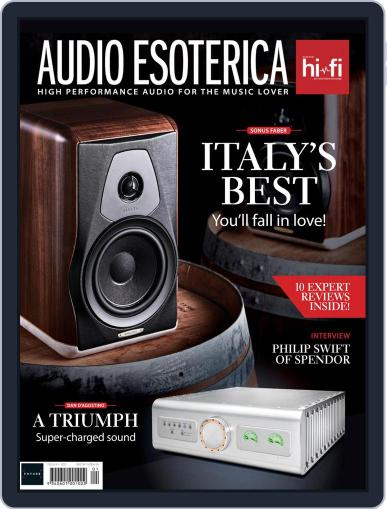 Audio Esoterica April 30th, 2021 Digital Back Issue Cover