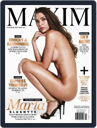 Maxim Australia Magazine (Digital) October 1st, 2021 Issue Cover