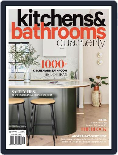 Kitchens & Bathrooms Quarterly Magazine (Digital) January 1st, 2021 Issue Cover