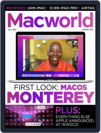 Macworld UK Magazine (Digital) July 1st, 2021 Issue Cover