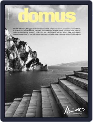 Domus Magazine (Digital) March 1st, 2021 Issue Cover