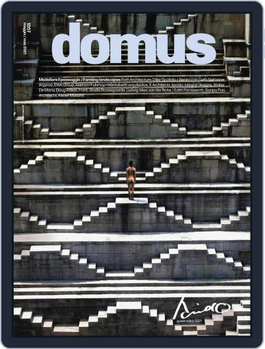 Domus Magazine (Digital) May 1st, 2021 Issue Cover