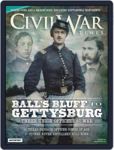 Civil War Times Magazine (Digital) February 1st, 2021 Issue Cover