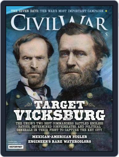 Civil War Times Magazine (Digital) October 1st, 2021 Issue Cover