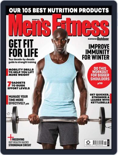 Men's Fitness UK Magazine (Digital) November 1st, 2021 Issue Cover