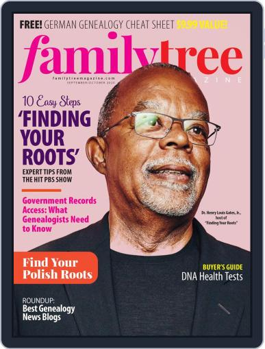 Family Tree Magazine (Digital) September 1st, 2020 Issue Cover