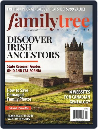 Family Tree Magazine (Digital) March 1st, 2021 Issue Cover
