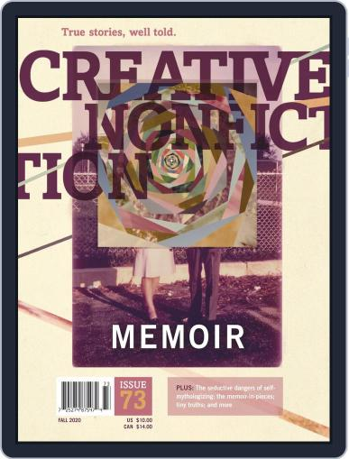 Creative Nonfiction Magazine (Digital) August 10th, 2020 Issue Cover