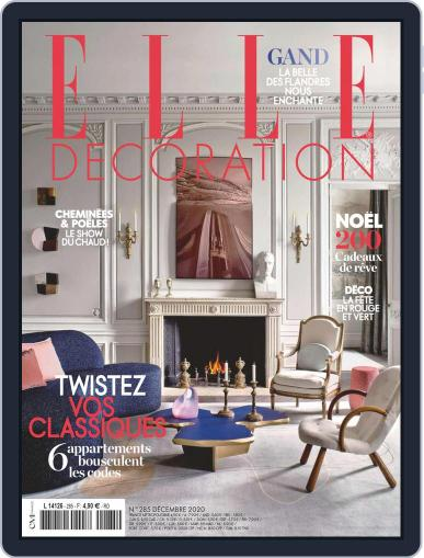 Elle Décoration France Magazine (Digital) November 15th, 2020 Issue Cover