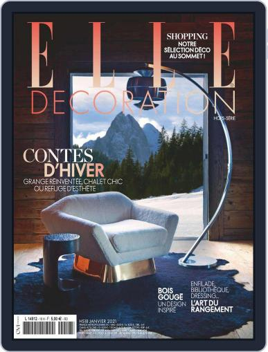 Elle Décoration France Magazine (Digital) January 1st, 2021 Issue Cover