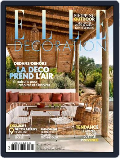 Elle Décoration France Magazine (Digital) May 1st, 2021 Issue Cover