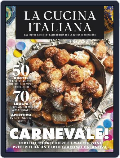 La Cucina Italiana Magazine (Digital) February 1st, 2021 Issue Cover