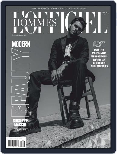 L'Officiel Hommes Italia Magazine (Digital) November 5th, 2020 Issue Cover