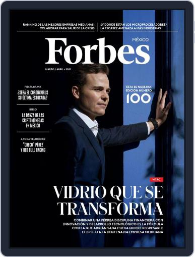 Forbes México Magazine (Digital) March 1st, 2021 Issue Cover