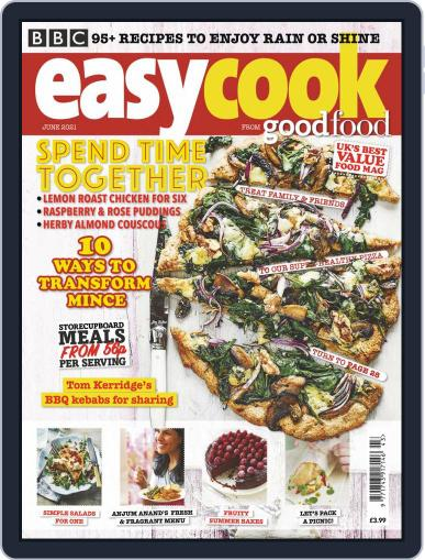 BBC Easycook Magazine (Digital) June 1st, 2021 Issue Cover