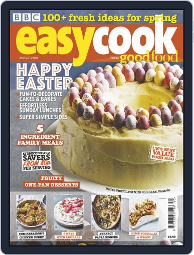 BBC Easycook Magazine (Digital) March 1st, 2021 Issue Cover