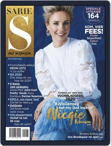 Sarie Magazine (Digital) January 1st, 2021 Issue Cover