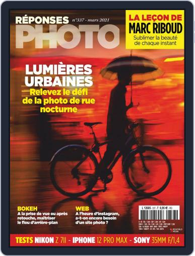 Réponses Photo Magazine (Digital) March 1st, 2021 Issue Cover