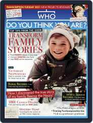 Who Do You Think You Are? Magazine (Digital) Subscription December 1st, 2020 Issue