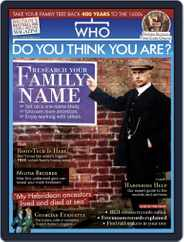 Who Do You Think You Are? Magazine (Digital) Subscription March 1st, 2021 Issue