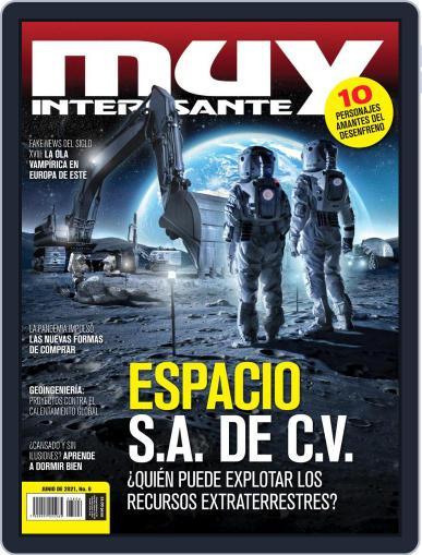 Muy Interesante México Magazine (Digital) June 1st, 2021 Issue Cover
