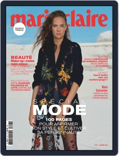 Marie Claire - France Magazine (Digital) October 1st, 2020 Issue Cover