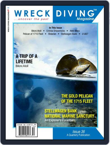 Wreck Diving (Digital) June 1st, 2015 Issue Cover