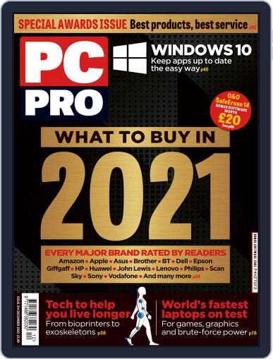 PC Pro Magazine (Digital) December 1st, 2020 Issue Cover