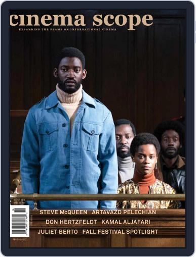 Cinema Scope Magazine (Digital) December 9th, 2020 Issue Cover
