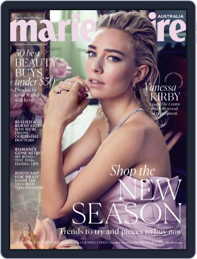 Marie Claire Australia Magazine (Digital) March 1st, 2021 Issue Cover