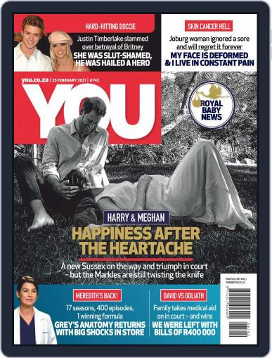 You South Africa Magazine (Digital) February 25th, 2021 Issue Cover