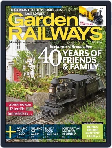 Garden Railways July 13th, 2020 Digital Back Issue Cover