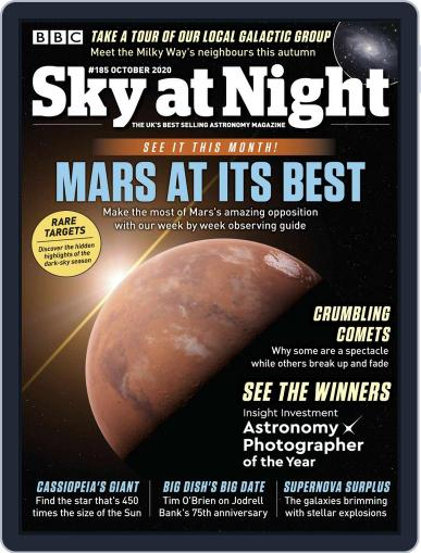 BBC Sky at Night Magazine (Digital) October 1st, 2020 Issue Cover