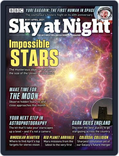 BBC Sky at Night Magazine (Digital) April 1st, 2021 Issue Cover