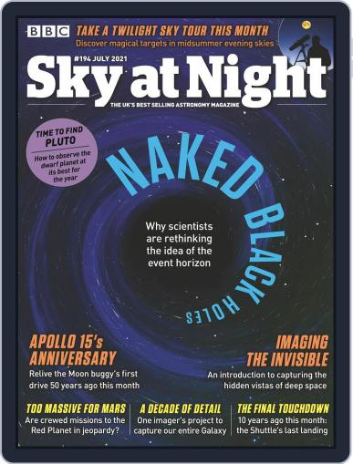 BBC Sky at Night Magazine (Digital) July 1st, 2021 Issue Cover