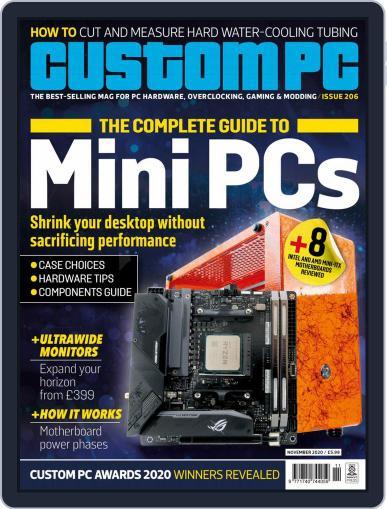 Custom PC UK Magazine (Digital) November 1st, 2020 Issue Cover