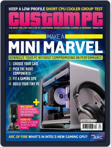 Custom PC UK Magazine (Digital) December 1st, 2021 Issue Cover