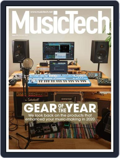 Music Tech January 1st, 2021 Digital Back Issue Cover