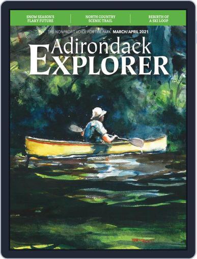 Adirondack Explorer Magazine (Digital) March 1st, 2021 Issue Cover
