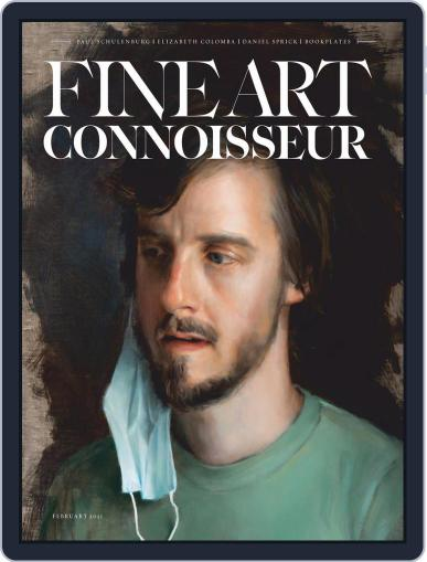 Fine Art Connoisseur Magazine (Digital) February 1st, 2021 Issue Cover