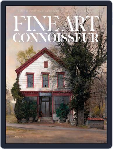 Fine Art Connoisseur Magazine (Digital) March 1st, 2021 Issue Cover